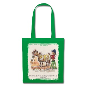 Thelwell Pony with hairdresser - Tote Bag