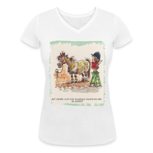 Thelwell Pony with hairdresser
