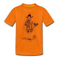 T-Shirts ~ Teenager Premium T-Shirt ~ Thelwell Pony with skipping rope