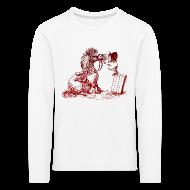 Long Sleeve Shirts ~ Kids' Premium Longsleeve Shirt ~ Thelwell Pony with dentist