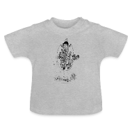 Baby Shirts  ~ Baby T-Shirt ~ Thelwell Pony with skipping rope