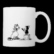 Mugs & Drinkware ~ Mug ~ Thelwell Pony learning at school