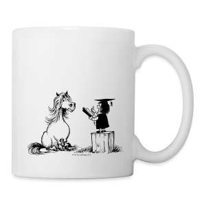 Thelwell Pony learning at school - Mug
