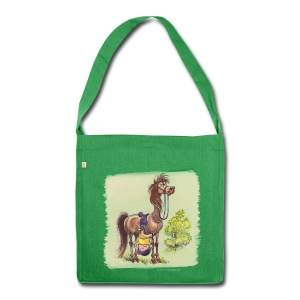 Thelwell Pony Rider is headlong - Schultertasche aus Recycling-Material