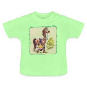 Thelwell Pony Rider is headlong - Baby T-Shirt