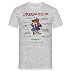 Thelwell Learning to ride - Männer T-Shirt
