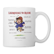 Mugs & Drinkware ~ Mug ~ Thelwell Learning to ride