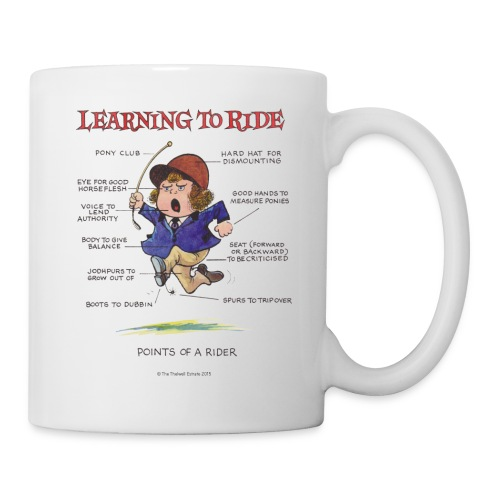 Thelwell Learning to ride - Mug