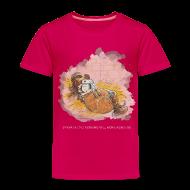 T-Shirts ~ Kinder Premium T-Shirt ~ Thelwell Pony is ill