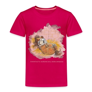 Thelwell Pony is ill - Kinder Premium T-Shirt