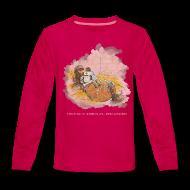Long Sleeve Shirts ~ Teenagers' Premium Longsleeve Shirt ~ Thelwell Pony is ill