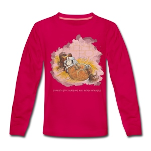 Thelwell Pony is ill - Teenagers' Premium Longsleeve Shirt