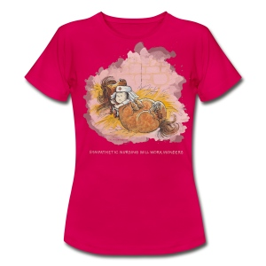 Thelwell Pony is ill - Frauen T-Shirt