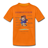T-Shirts ~ Teenager Premium T-Shirt ~ Thelwell Learning to ride