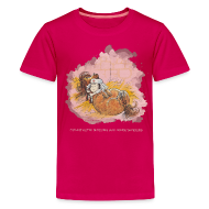 T-Shirts ~ Teenager Premium T-Shirt ~ Thelwell Pony is ill