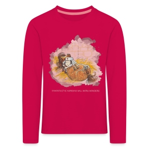 Thelwell Pony is ill - Kids' Premium Longsleeve Shirt