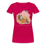 T-Shirts ~ Women's Premium T-Shirt ~ Thelwell Pony is ill