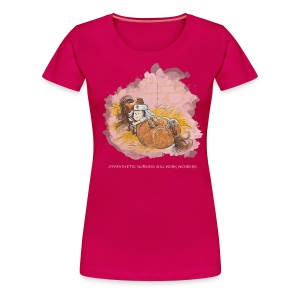 Thelwell Pony is ill - Frauen Premium T-Shirt
