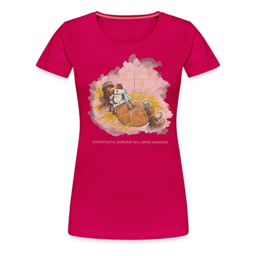 Thelwell Pony is ill - Women's Premium T-Shirt