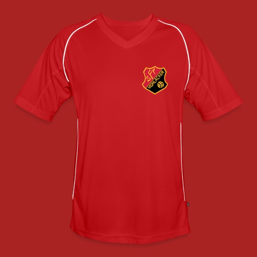 Trikot Line red - Männer Fußball-Trikot