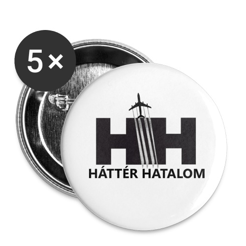 HáttérHatalom kitűző (5 db) - Buttons medium 1.26/32 mm (5-pack)