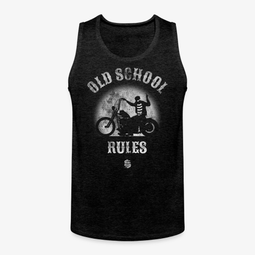 Old School Rules tank top - Tank top premium hombre