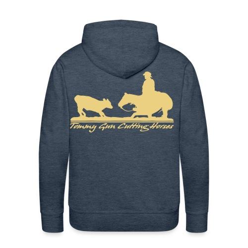 TommyGun Cutting Horses - Männer Premium Hoodie
