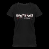 T-Shirts ~ Women's V-Neck T-Shirt ~ Kurwastyle Project 2016 Women's V-neck T-Shirt