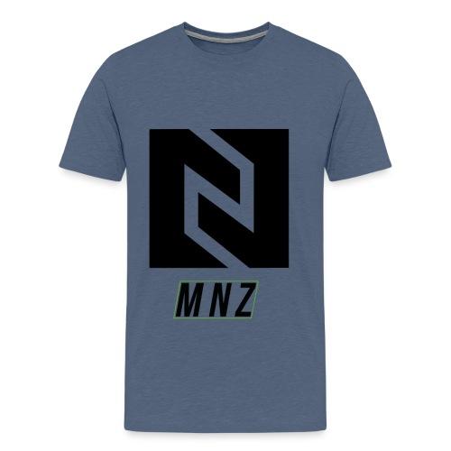 T-Shirt MNZ Noir V2 - T-shirt Premium Homme