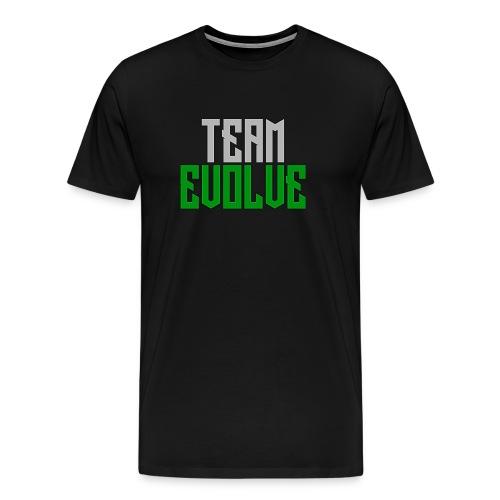 Team Evolve Future Logo Men's T-Shirt - Men's Premium T-Shirt