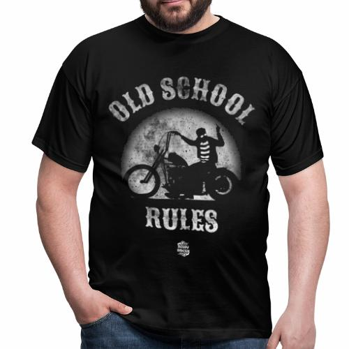 Old School Rules manga corta - Camiseta hombre