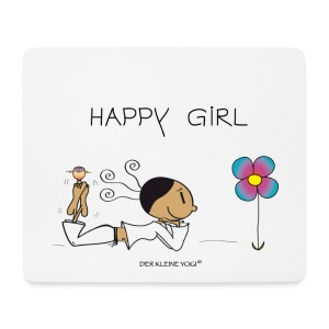 Happy Girl  - Mousepad (Querformat)