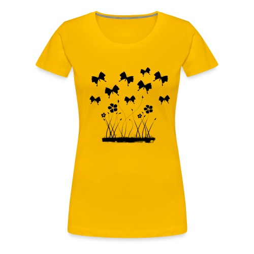 Flutter - Women's Premium T-Shirt