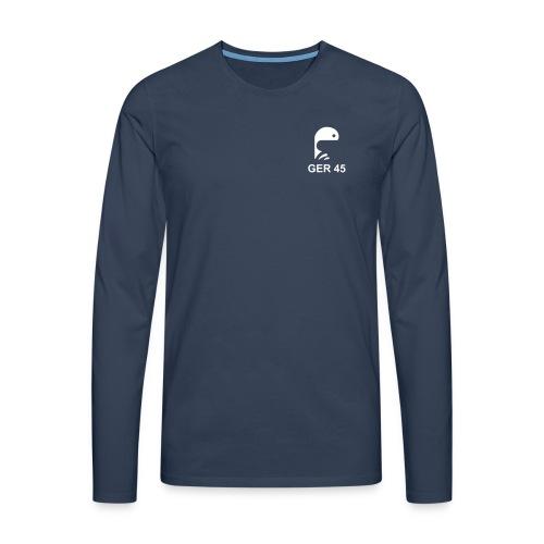 Langarmshirt Männer - Männer Premium Langarmshirt