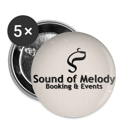Sound of Melody - Booking & Events Buttons  - Buttons mittel 32 mm