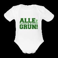 ALLEz GRÜN! - Baby Kurzarm-Body