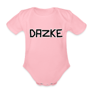 DAZKE - Baby Kurzarm-Body - freie Farbwahl