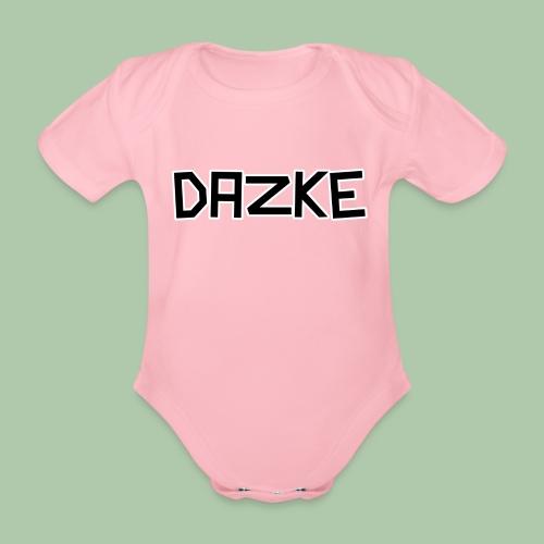 DAZKE - Baby Kurzarm-Body - freie Farbwahl - Baby Bio-Kurzarm-Body