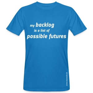 Bio T-Shirt - my backlog is a list... - Männer Bio-T-Shirt