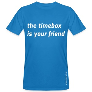 Bio T-Shirt - the timebox is your friend - Männer Bio-T-Shirt