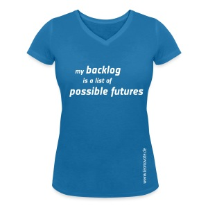 Shirt - my backlog is a list of possible futures - Frauen T-Shirt mit V-Ausschnitt