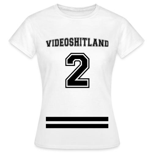VideoShitLand T-Shirt ( Football Style) - Frauen T-Shirt