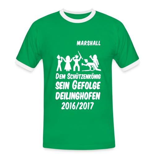 Gefolge MARSHALL - Männer Kontrast-T-Shirt
