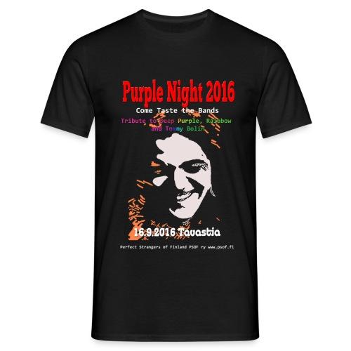 Purple Night 2016 - Miesten t-paita