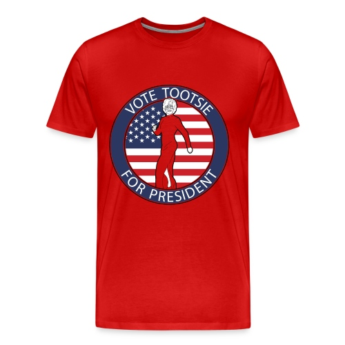 Vote Tootsie - Men's Premium T-Shirt