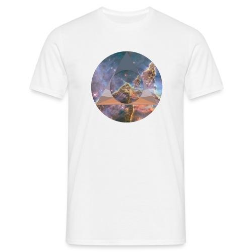 Space polygon Tee - Men's T-Shirt