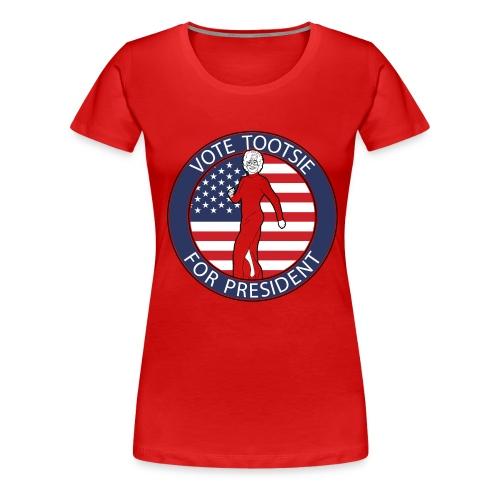 Vote Tootsie - Women's Premium T-Shirt