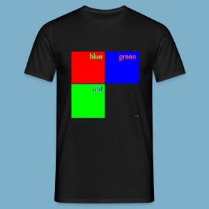 Fundago Color Motiv - Männer T-Shirt