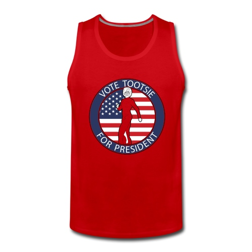 Vote Tootsie - Men's Premium Tank Top