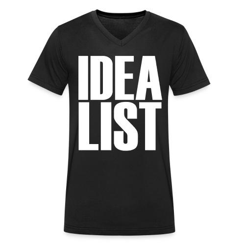 Idealist - Männer Bio-T-Shirt mit V-Ausschnitt von Stanley & Stella